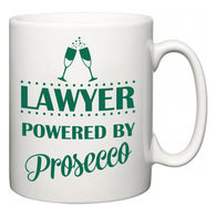 Lawyer Powered by Prosecco  Mug