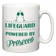 Lifeguard Powered by Prosecco  Mug