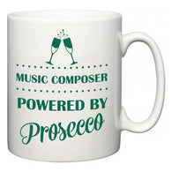 Music Composer Powered by Prosecco  Mug