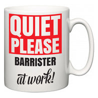 Quiet Please Barrister at Work  Mug