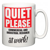 Quiet Please Commercial and Industrial Designer at Work  Mug