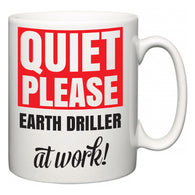 Quiet Please Earth Driller at Work  Mug