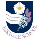 Junior Navy V Neck Sweater - Eskdale School