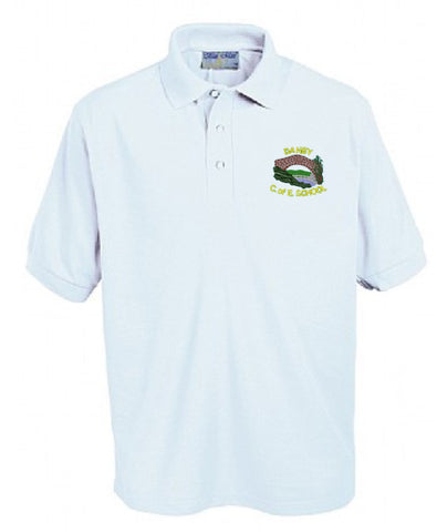 Danby C. E. Primary School White Polo