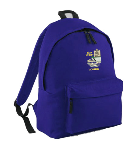 East Whitby Academy Back Pack