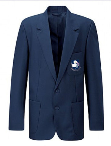 Junior Girls and Boys Navy Embroidered Blazer - Eskdale School