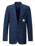 Senior Girls or Boys Navy Embroidered Blazer - Eskdale School