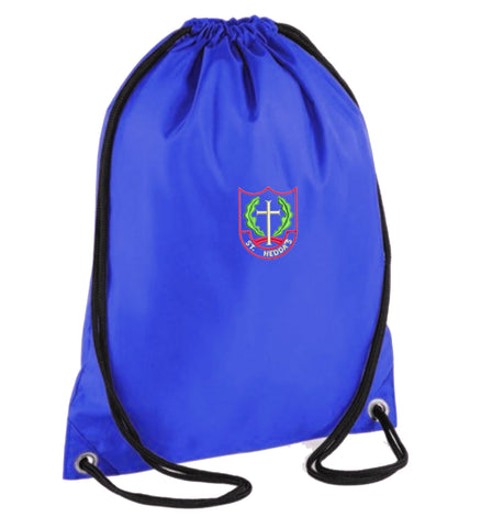St Heddas School PE bag