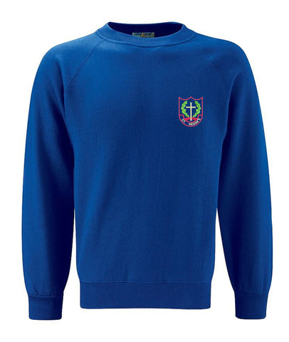 St Heddas School Neck Sweatshirt