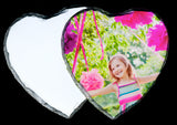 Heart Shaped Photo Slate (Personalise it!)