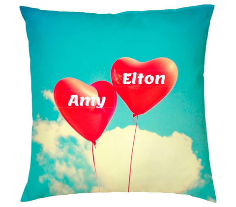 2 Hearts - Square Cushion 1 DOF