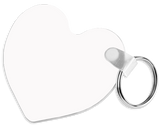 Heart Shaped Keyring (personalise it)
