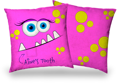 My Lost Tooth - Monster Pink - Personalise It!