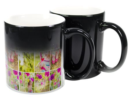 colour change mug ideal gift for a birthday just add a photo