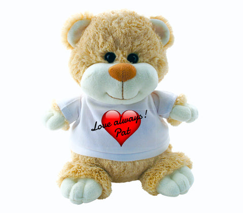 Teddy Bear - Valentines Day (Personalise Him!)