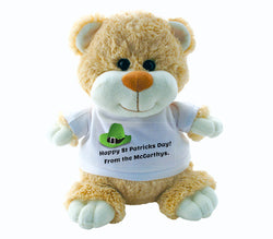 Teddy Bear - St Patricks Day (Personalise Him!)