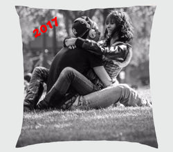 Valentines - Square Cushion (Personalise it, Back and Front)