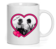 Heart Design Mug (Personalise it!)