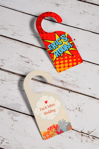 Door Hanger - (Personalise it!)