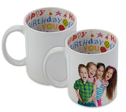 Happy Birthday Mug - Personalise it!