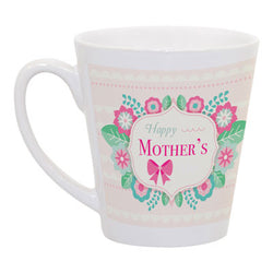 Mother's Day Latte Mug - Design 2 (Personalise It!)