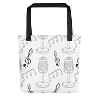 Music & Microphones Tote bag