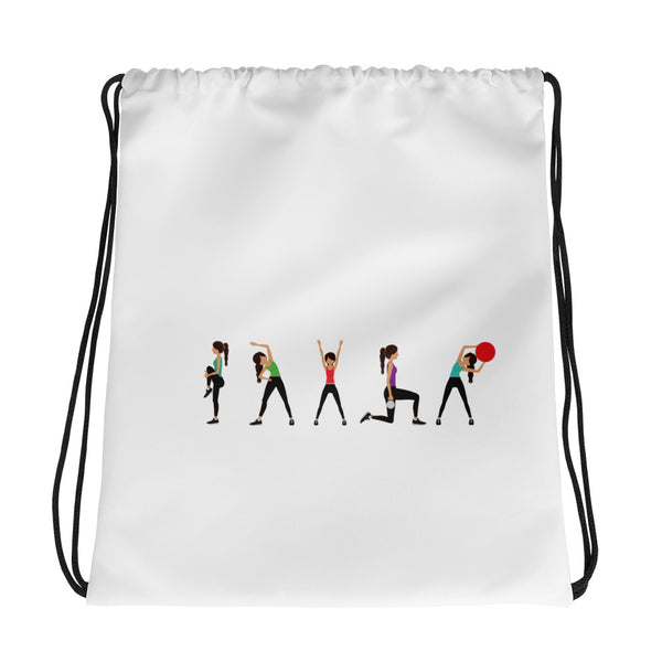 She's Fit Drawstring bag