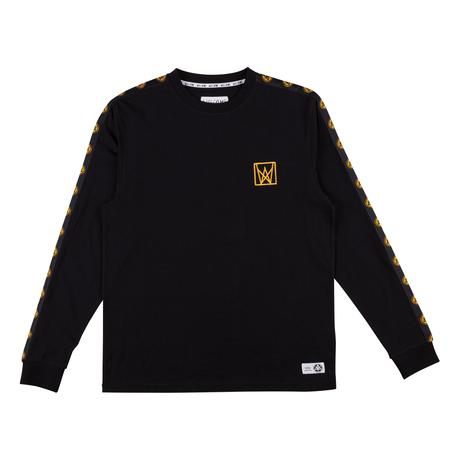Chalice Taped Longsleeve Knit (Black/Gold)