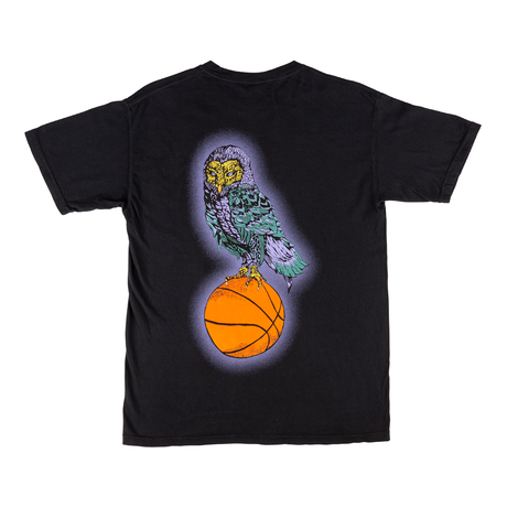 Hooter Shooter Garment-Dyed Tee (Black)