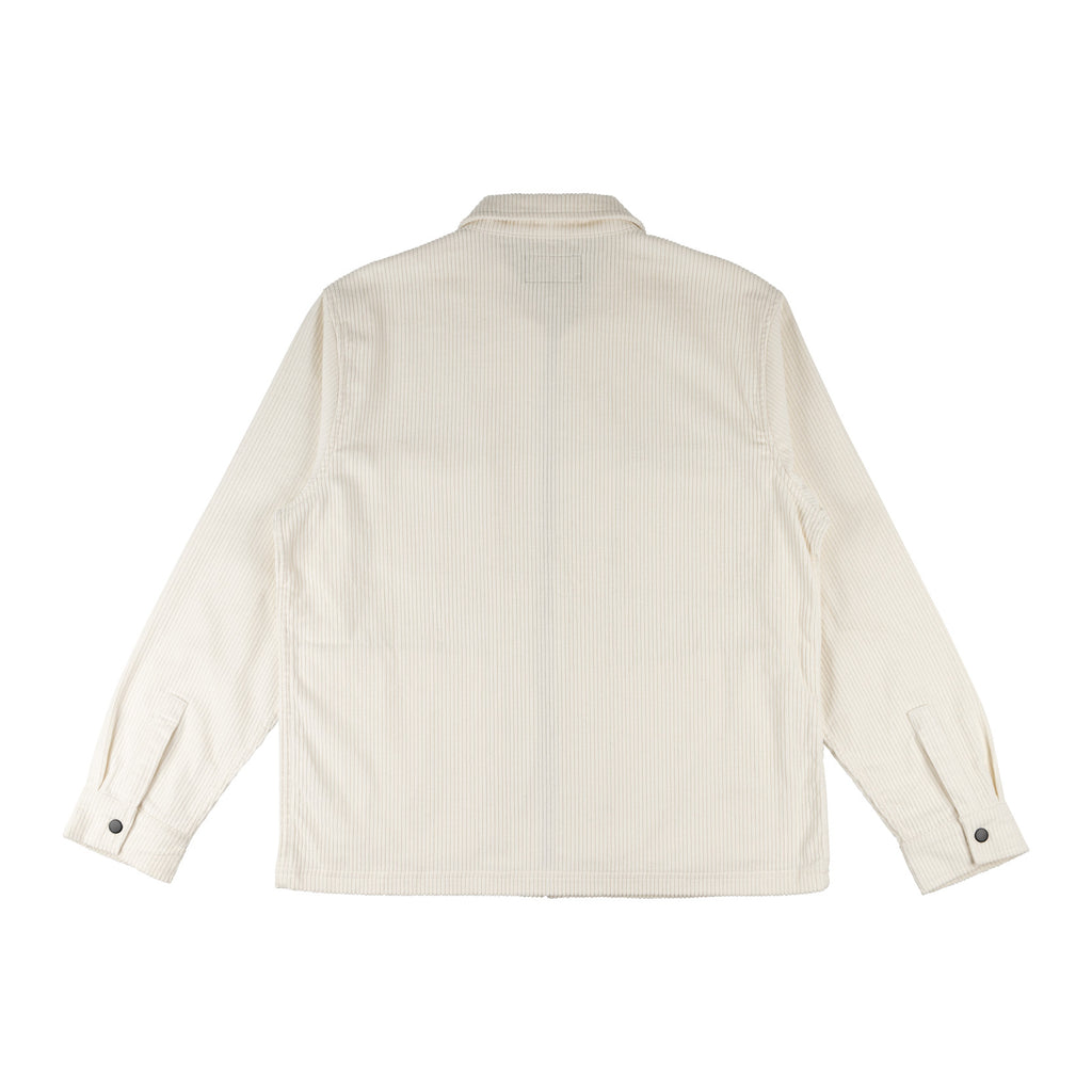 Hydra Corduroy Zip Jacket (Bone)