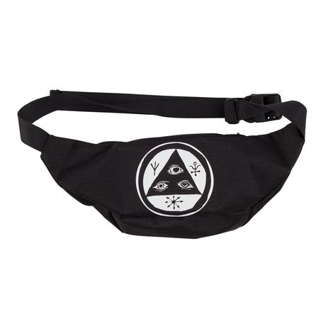 Scrawl Waist Bag (Black/White)