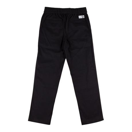 Dark Wave Split Elastic Pants (Black/Bone)