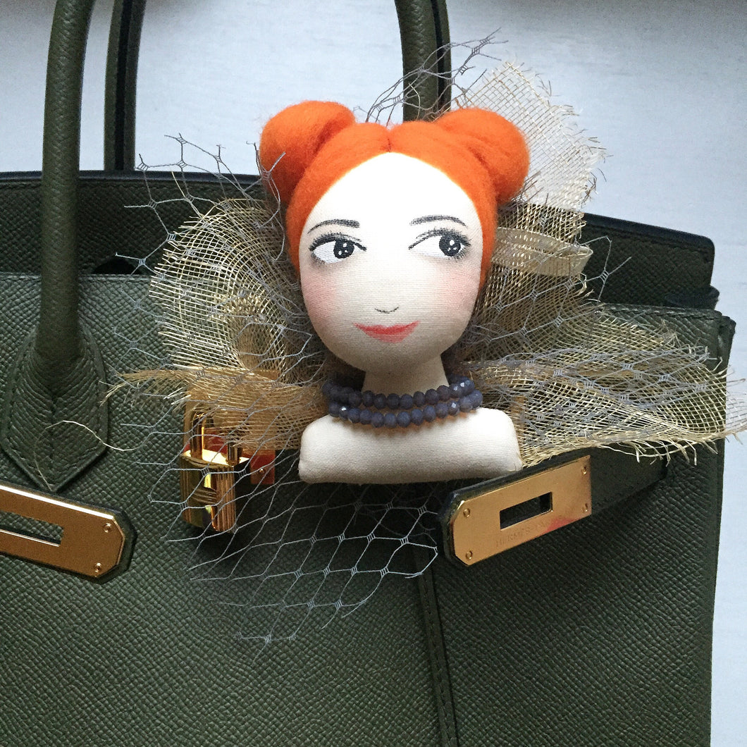 Doll brooch workshop 13 Jan (Sat)