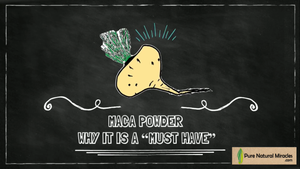 "Maca Powder: Why It Is a ""MUST HAVE""...for people on the ""Go"""