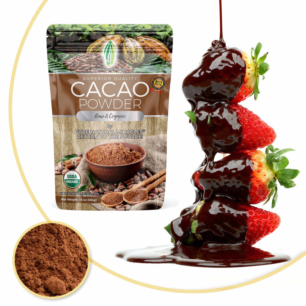 Raw Organic Cacao Powder and The Amazing Health Benefits...
