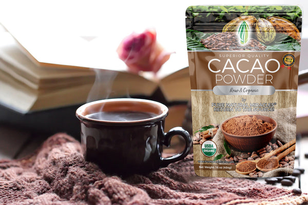 Cacao Powder Raw and Organic Highest Quality by Pure Natural Miracles
