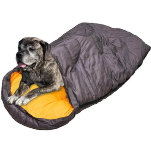 Dog Sleeping Bag Large | Travel Bed for Camping and Backpacking | Warm | Portable | Easy to Clean