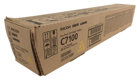 Genuine Ricoh Savin Lanier  YELLOW Toner C7100 C7110 Pro Print Cartridge