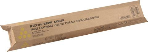 Genuine Ricoh Savin Lanier Gestetner YELLOW Toner MP C3000 MP C2500 MP C2000 Print Cartridge