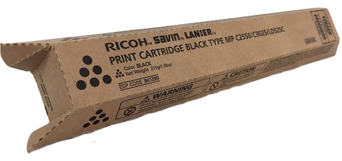 Genuine Ricoh Savin Lanier BLACK Toner MP C2550 Print Cartridge