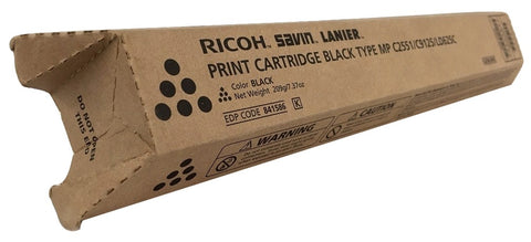 Genuine Ricoh Savin Lanier BLACK Toner MP C2551 Print Cartridge