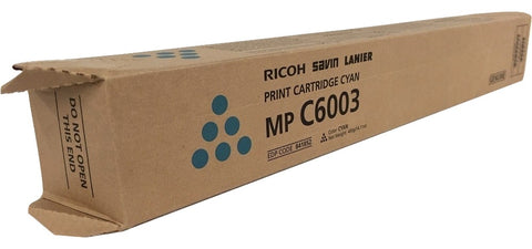Genuine Ricoh Savin Lanier CYAN Toner MP C6003 MP C5503 MP C4503 Print Cartridge