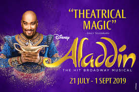 Alladin Musical in Singapore