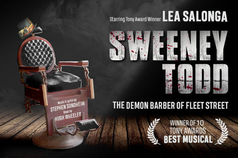Sweeney Todd best musical in Singapore