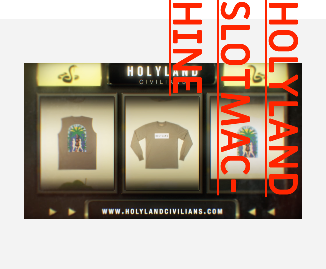 HOLYLAND SLOTMACHINE. GET HOLY OR GET NAKED.
