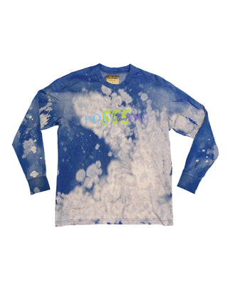 555 LONG SLEEVE TIE-DYE T
