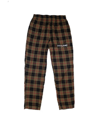 SHEPHERD PLAID PULL-ON PANTS