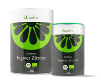 Lemongrass and Ginger - green tea with a fresh lemongrass taste