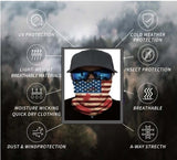 Warm Face Shields,  Neck Gaiter, Bandana Style for Biker, e-bikes bandana, electric bike rider, Helmet Beanie Micro DOT