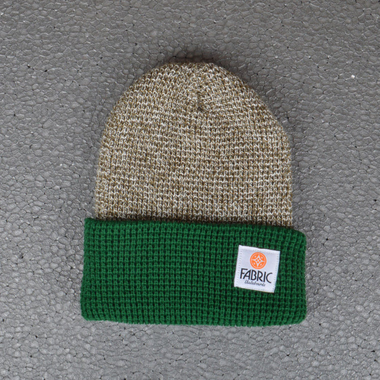 FABRIC MARCUS BEANIE GREEN/GREY